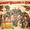 Hagenbeck Wallace: CARL HAGENBECK PERFORMING ELEPHANTS (c.1933)