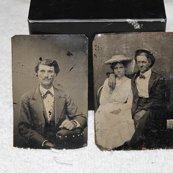 Two small tintypes