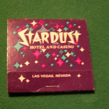 Antique/Vintage Stardust Casino Matchbook ~ Las Vegas, Nevada