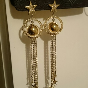 Kirks Folly Earrings - date? - Costume Jewelry