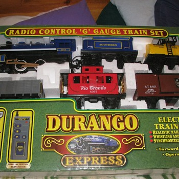 DURANGO EXPRESS G GAUGE TRAIN SET #37240 - Model Trains