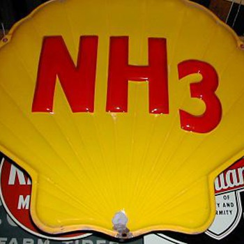 SHELL CHEMICAL NH3 SIGN - Signs
