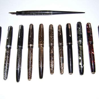 Some Parkers I've restored - Pens