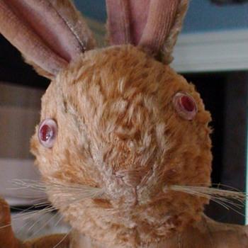Stuffed Rabbit Toy Vintage - Animals