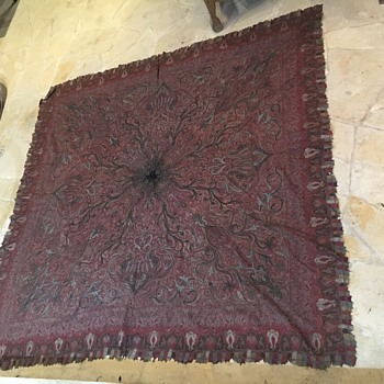 Victorian Paisley Shawl - Accessories