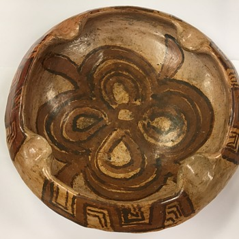 Glazed Pottery Bowl - Kitchen