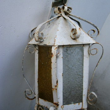 Old lantern. - Lamps
