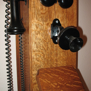My Wooden Wall Phone