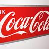 1950 Coca-Cola Sign by Maker M.C.A.