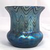 "Loetz ""Phänomen Genre 6893"" Vase. 3"" Tall. PN-I 7567. Circa 1898"