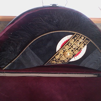 Bicorne Hat with Gold Bullions -- date and country unkown - Military and Wartime