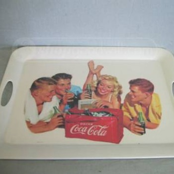 vintage coca cola tray - Coca-Cola