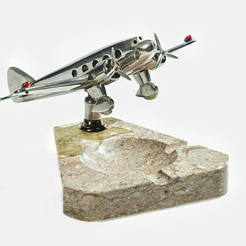 Dedicated Desk Airplane Ashtray - Advertising