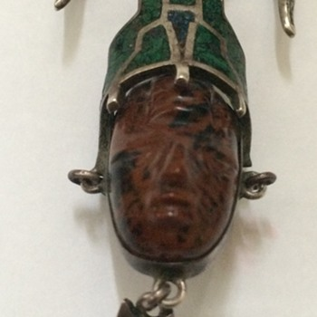 Vintage Mexico Silver Pendant/Pin - Fine Jewelry
