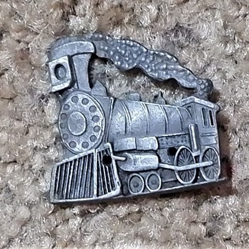 Train pin - Medals Pins and Badges