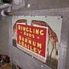 Original circus poster/billboard