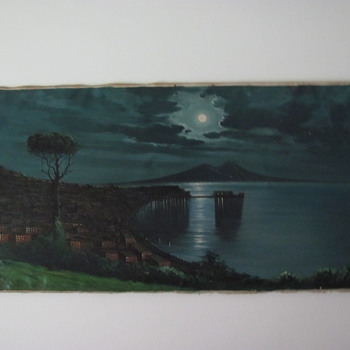 original signed .ciappa. oil painting