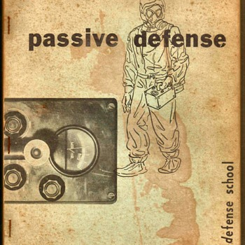 "1954 - U.S. Air Force ""Passive Defense"" Training Manual - Paper"