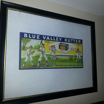Blue Valley Butter ad