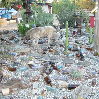 CACTUS/BOTTLE/ARTIFACT GARDEN