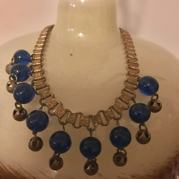 Miriam Haskell Book Chain Necklace? - Costume Jewelry