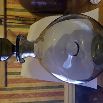Vintage Holmegaard'DANICA'Dohnut Decanter - Bottles