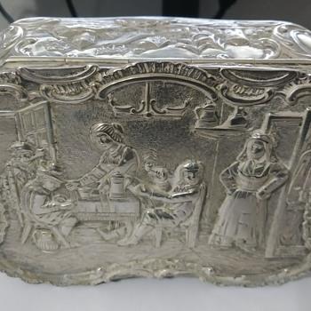 800 Silver Box - Silver