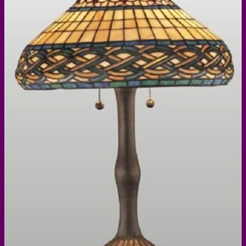 1911 Chicago Mosaic Lamp Shade - Lamps