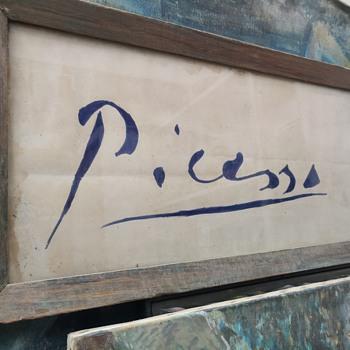 Picasso Initial - Fine Art