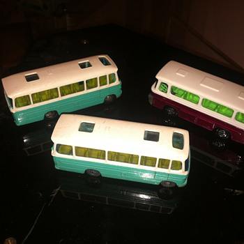 Husky and Matchbox Superfast buses...