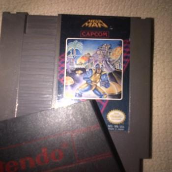 NES Mega man 1 & 2