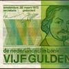 Netherlands - (5) Gulden Bank Note