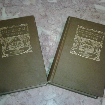 Les Miserables Books 1925