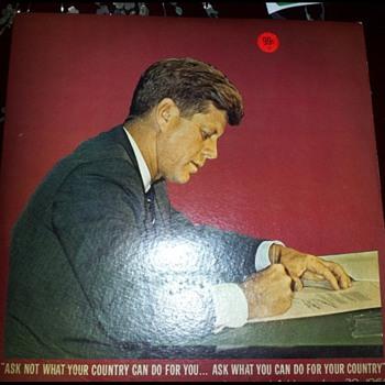 John F Kennedy Speech on record - Records