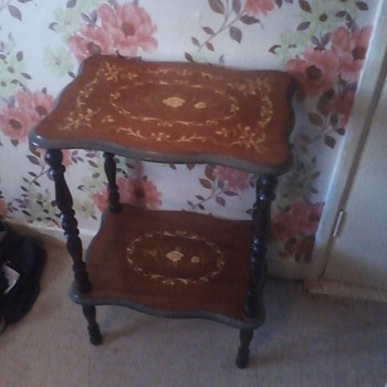 antique italian matching tables - Furniture