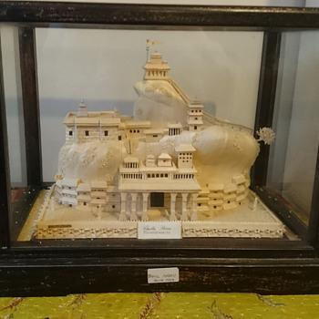 Hindu temple hand made - Asian