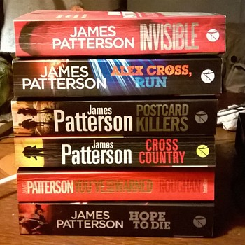 Six James Patterson Novels for 5 Euro 50 Cents - My Favorite Crime Writer!