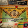 1963 Indy 500 ticket stub