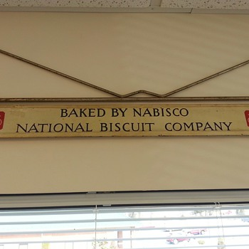 Nabisco Sign - Advertising