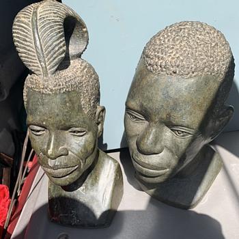 Bust heads - Fine Art