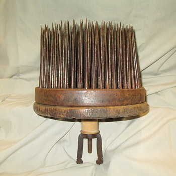 "Early 19th Century Heckle for ""Anything Obscure"" - goes with your flax breaker - Tools and Hardware"