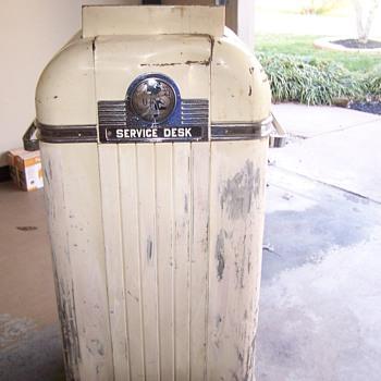 Vintage Alemite Gas Service Station Desk - Petroliana