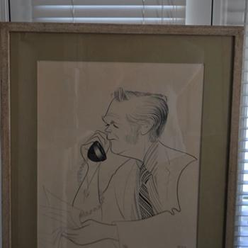 Al Hirschfeld drawing of...?