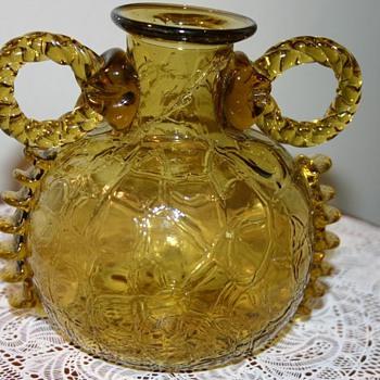 Strange Antique Vase of unknown origin - Art Glass