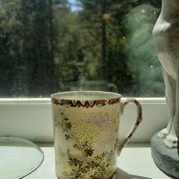 Chrysanthemum Teacup by G.T. Marsh & Co.  - China and Dinnerware