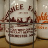 GUSHEE FARMS BABY TOP MILK BOTTLE FROM DORCHESTER, MASS