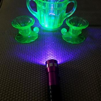 Glow in the Dark! - Glassware