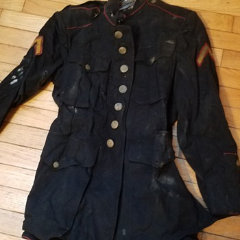 Old military uniform - Military and Wartime