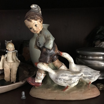 Hummel Mabe one of a kind Clay mould  - Figurines
