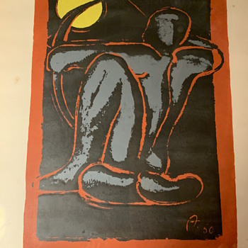 Two Prints unknown Artist  - Posters and Prints